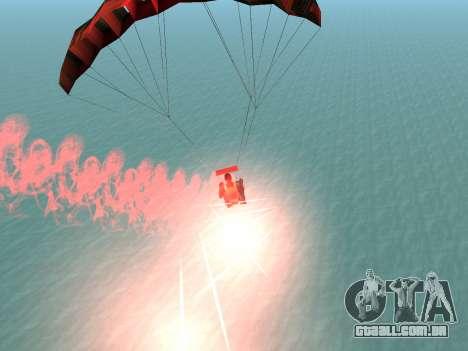 O Pára-Quedas Flare para GTA San Andreas quinto tela
