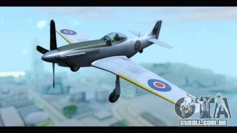 P-51 Mustang Mk4 para GTA San Andreas