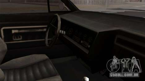 GTA 5 Albany Buccaneer para GTA San Andreas vista direita