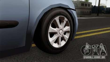 Renault Clio Mio 3P para GTA San Andreas traseira esquerda vista