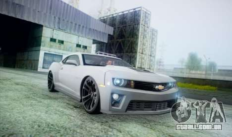 DirectX Test 2 - ReMastered para GTA San Andreas por diante tela