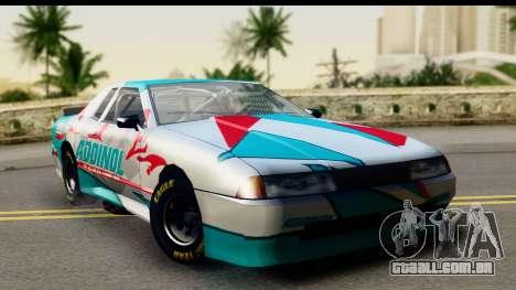 Elegy NASCAR PJ para GTA San Andreas vista direita
