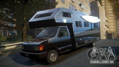 GTA IV Steed Camper para GTA 4 traseira esquerda vista