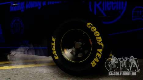 Elegy NASCAR PJ 2 para GTA San Andreas traseira esquerda vista