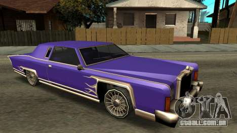 Beta Remington para GTA San Andreas interior