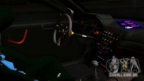 BMW M3 GTR 2001 Prototype Technology Group para GTA San Andreas vista direita