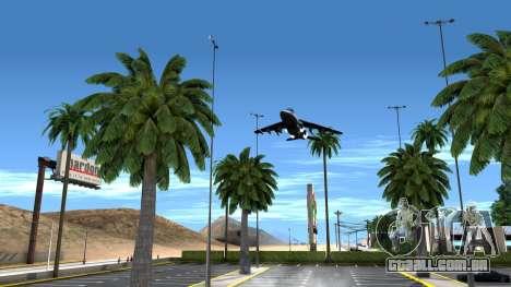 ClickClack ENB v2.0 para GTA San Andreas quinto tela