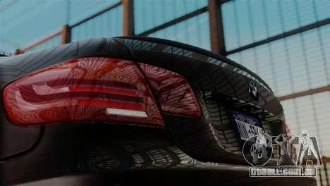 BMW M3 E92 GTS 2012 v2.0 Final para GTA San Andreas vista direita