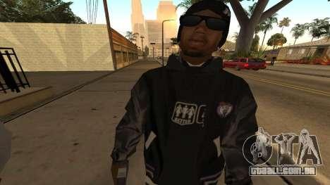 Ballas Skin Pack para GTA San Andreas por diante tela
