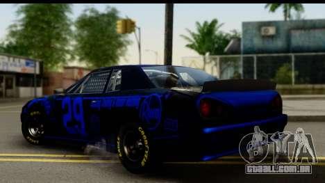 Elegy NASCAR PJ 2 para GTA San Andreas esquerda vista