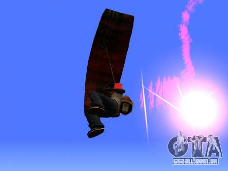 O Pára-Quedas Flare para GTA San Andreas terceira tela