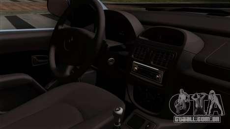 Renault Clio Mio 3P para GTA San Andreas vista direita