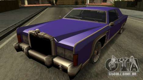 Beta Remington para as rodas de GTA San Andreas