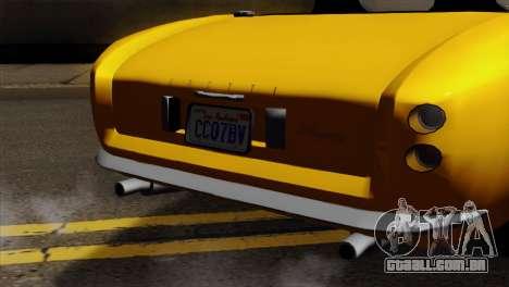 GTA 5 Grotti Stinger v2 para GTA San Andreas vista direita