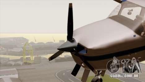 GTA 5 Mammatus para GTA San Andreas vista traseira