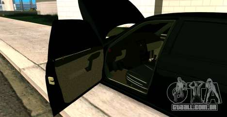 USANDO 2112 BUNKER para GTA San Andreas vista traseira