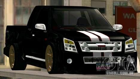 Isuzu D-Max X-Series para GTA San Andreas vista direita
