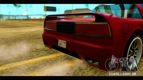 Infernus Rapide S Stock para GTA San Andreas vista direita