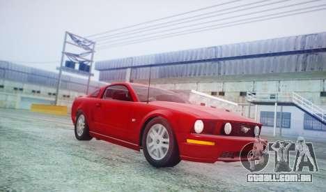 DirectX Test 2 - ReMastered para GTA San Andreas quinto tela