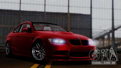 BMW M3 E92 GTS 2012 v2.0 Final para GTA San Andreas
