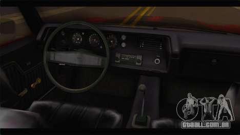 Chevrolet Chevelle 1970 Flat Shadow para GTA San Andreas