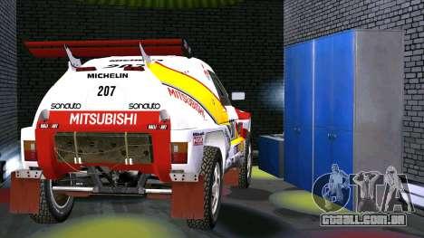 Mitsubishi Pajero para GTA San Andreas vista direita