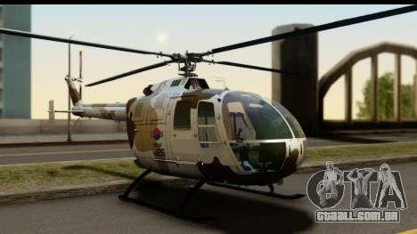 MBB Bo-105 Korean Army para GTA San Andreas