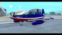 Beechcraft T-6 Texan II Red para GTA San Andreas