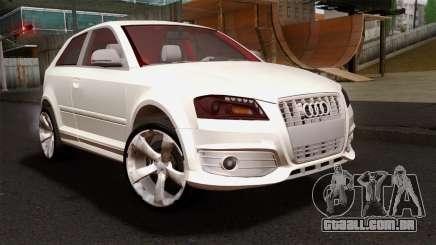 Audi S3 2011 para GTA San Andreas