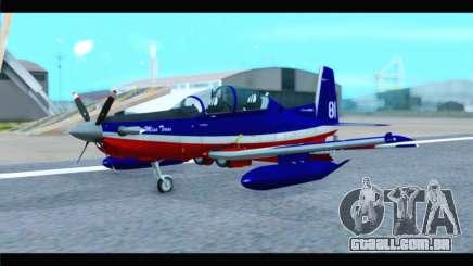 Beechcraft T-6 Texan II Red para GTA San Andreas