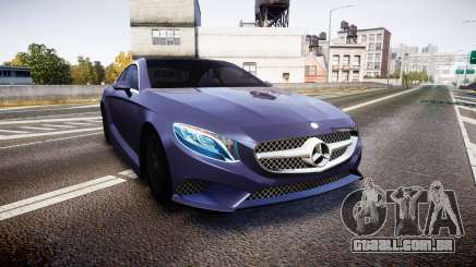 Mercedes-Benz S500 (C217) 2015 para GTA 4