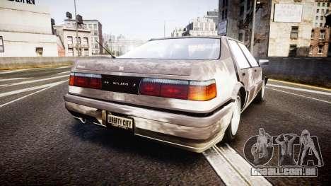 Dinka Hakumai Beater para GTA 4 traseira esquerda vista
