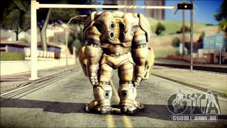 Hulkbuster Iron Man v2 para GTA San Andreas segunda tela