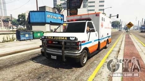 Ambulância v0.7.2 para GTA 5