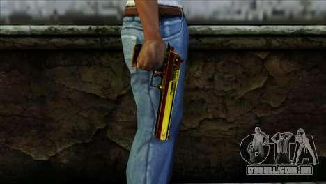 Desert Eagle Espanha para GTA San Andreas terceira tela
