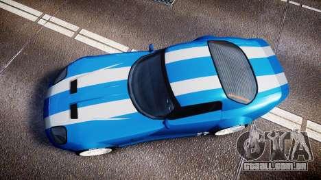 Bravado Banshee Double Stripe para GTA 4 vista direita