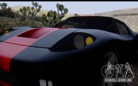 Bullet PFR v1.1 HD para GTA San Andreas vista superior
