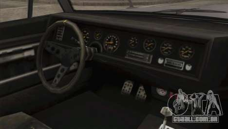 GTA 5 Declasse Stallion IVF para GTA San Andreas vista direita