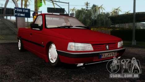 Peugeot 405 Pickup para GTA San Andreas