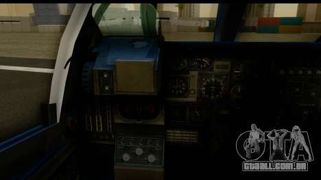 Northrop Grumman EA-6B ISAF para GTA San Andreas vista interior