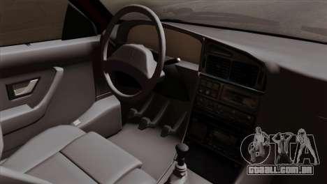 Peugeot 405 Pickup para GTA San Andreas vista direita