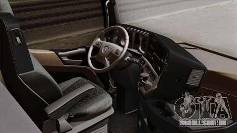 Mercedes-Benz Actros MP4 Euro 6 IVF para GTA San Andreas vista direita