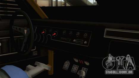 GTA 5 Imponte Dukes ODeath IVF para GTA San Andreas vista traseira