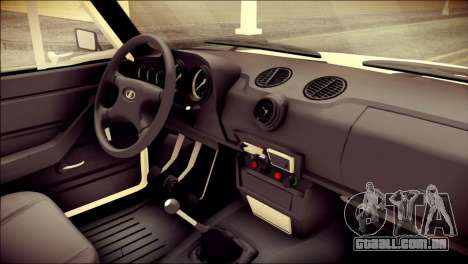 VAZ 2106 Stoke para GTA San Andreas vista direita