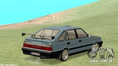 Daewoo-FSO Polonez Caro Plus ABC 1999 para GTA San Andreas vista interior