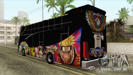 Bus Thailand para GTA San Andreas esquerda vista
