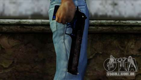 Desert Eagle Estonia para GTA San Andreas terceira tela