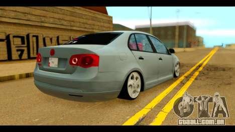 Volkswagen Bora para GTA San Andreas esquerda vista