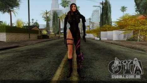 Jessica Sherawat from Resident Evil Revelations para GTA San Andreas