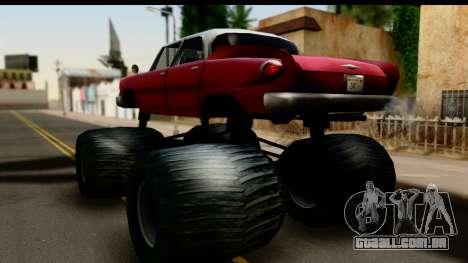 Monster Glendale para GTA San Andreas esquerda vista